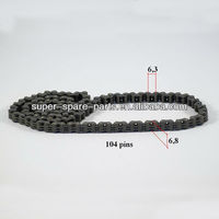 China high quality 250cc engine 104 pins chain motorcycle
