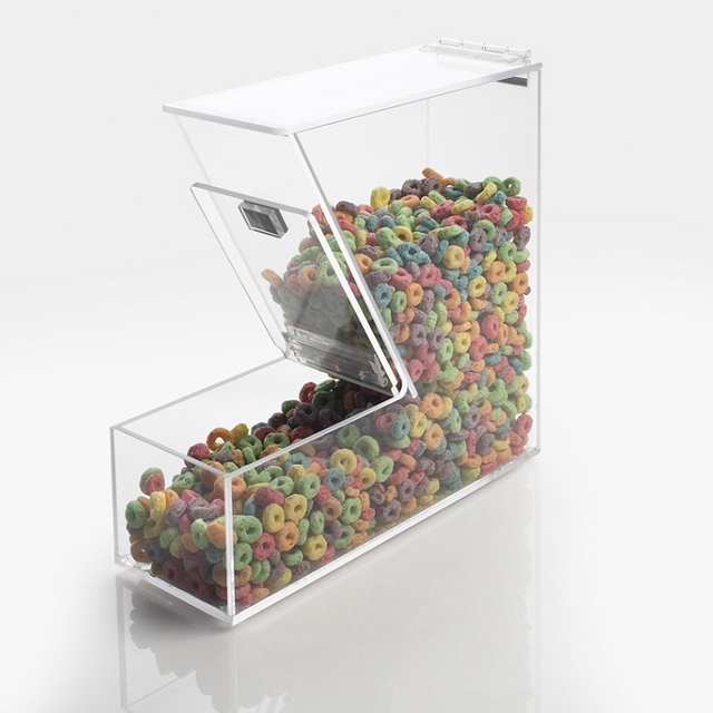 Transparent Acrylic Food Container Plexiglass Candy Storage Box