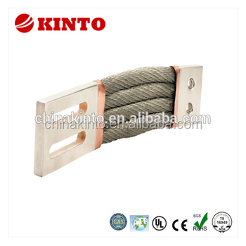 Multifunctional braided copper flexible connector made in China
