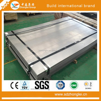 galvanized steel board export in competitive price