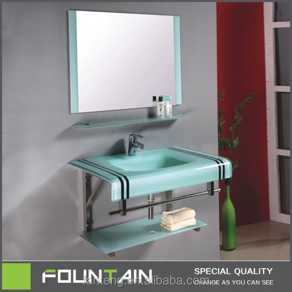 Tempered Glass Bathroom Glass Wash Basin Tempered Sanitary Ware