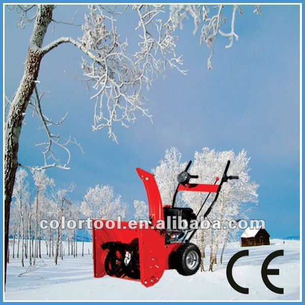 Gas blower snowblower