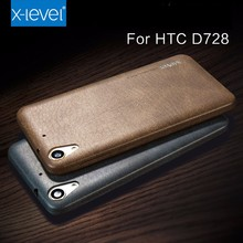 Wholesale Unique Xlevel Luxury Vintage leather Cover For HTC Desire 728 Cases
