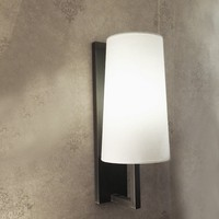 Modern White Fabric Bronze color IP54 Waterproof Bathroom Wall Light ,M6043