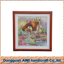 AIMI 2016 Fashion chinese manufacturer handmade village house painting, home decoration painting