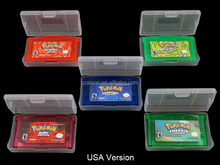 Free Shipping by DHL for GBA SP Games Pokemon Card Pokemon Trading Card Game