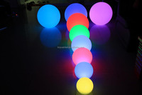 16 color changing KTV led ball light outdoor/disco decoration led ball