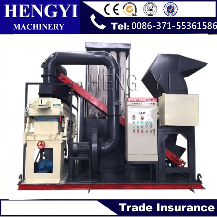 Lower energy consumption copper wire granulator machine