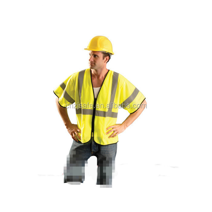 ENISO 20471 Standard Reflective Safety Vest for Transport Man