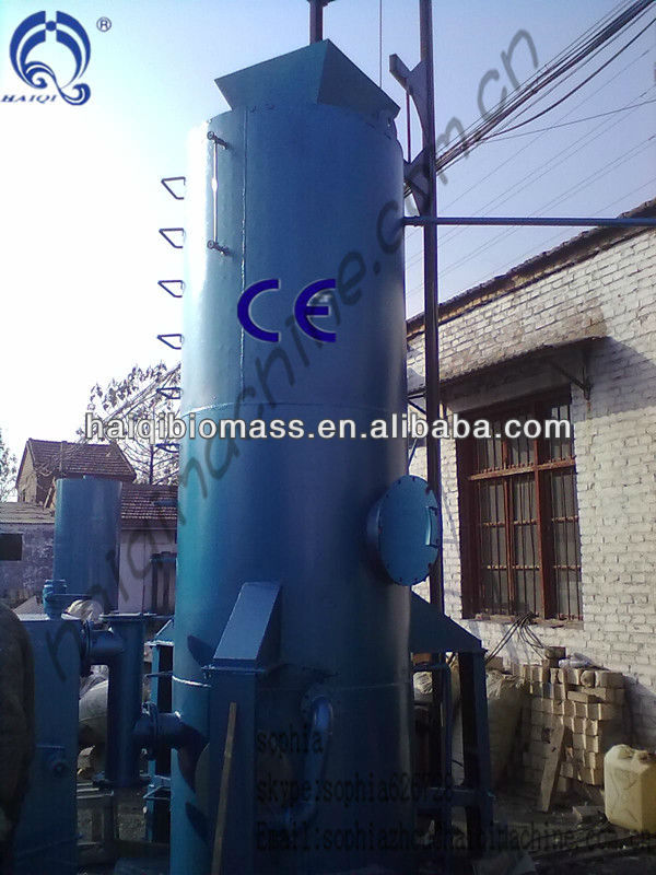 Wood , Wheat Straw Gasifier For rolling mill furnace, copper reverberatory furnace, crucible furnace, industrial boilers