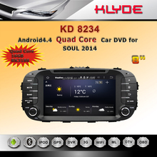 2 din android car audio system for kia soul 2014