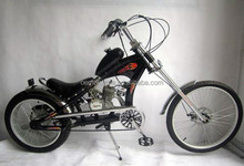 20-24inch 2-stroke 80cc disc brake custom chopper motorcycle wholesale
