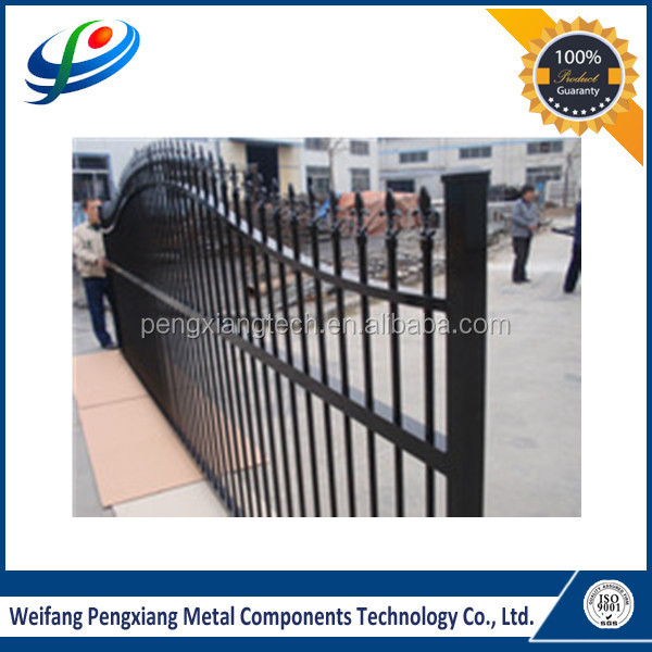 Gorgeous design wrought iron railing parts/balcony railing/outdoor stair railing