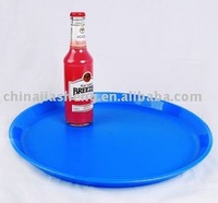 Plastic trays for serving