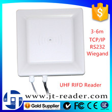 TCP/IP(RJ45) 3-6m UHF RFID Reader Short Range for Vehicle Management