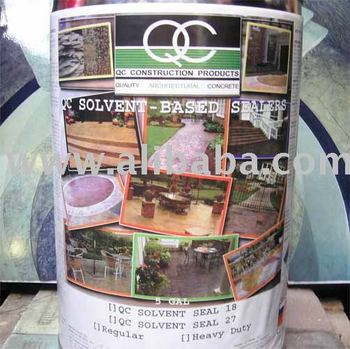 Solvent Sealer For Decorative Concrete,Stamped Concrete, Natural Stones, Bricks, Pebbles, Wall Cladding, Concrete