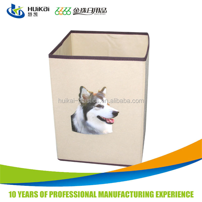 Wholesale household items non woven organizers and storage cube fabric storage box