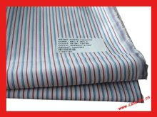 T/C 65/35 stripe poplin fabric stripe shirting fabric yarn dyed fabric