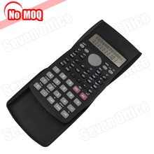 NO MOQ Promotion Smart 10 Digit 2-line Display Flip Cover Digital Calculator Factories