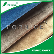 china manufacture polyester micro silk velvet fabric for curtain