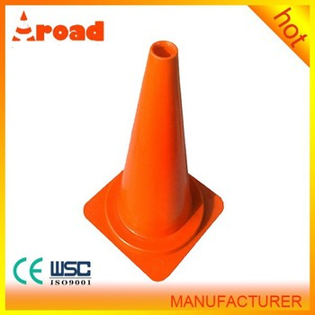 Hot sales 75cm flexible PVC traffic cone