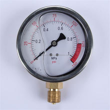 Durable high quality Easy To Read Clear yf-50 black steal pressure gauge