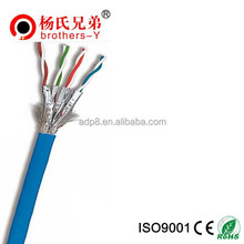 Cat 7 Type and 8 Number of Conductors Cat7 patch cord best price OEM from china factory