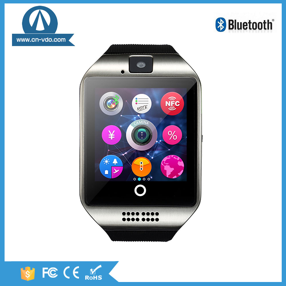 smart watch mobile phone Q18 Camera Facebook Whatsapp for call up