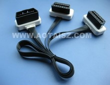 obd 16 pin OBD cable OBDII Splitter Extension Cable Auto Diagnostic Cable Male to Dual Female