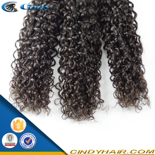 new arrival hot sale natural black 100% unprocessed virgin peruvian afro kinky curly braiding hair weave
