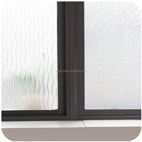 Non PVC reusable no glue electrostatic adhesion static cling window film