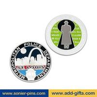 sonier-pins cheap custom token gold and silver coins for rare coin values