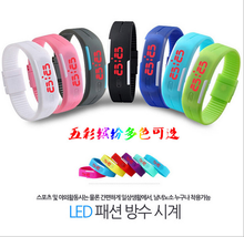 2015 newest wholesale design your own led watch silicone led watch unisex fashion wristwatch