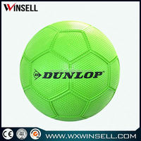 rubber football/soccer ball in yiwu health factory