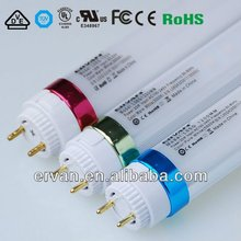 high quality t8 led tube 600mm 2012 hot price tuv ul vde ce red lighting lamp