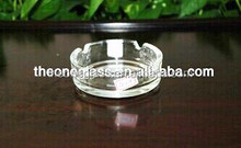 Wholesale,Promotion Round Engraved Crystal Glass Ashtray