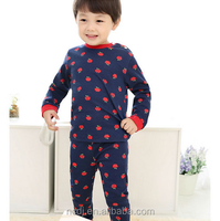 Comfortable skin children clothing 2016 long sleeve long pants