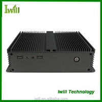 Iwill IBOX-D2550A mini itx embedded fanless industrial pc with dual lan