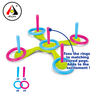 Factory wholesale sport game toys ring toss game for kids ring toss
