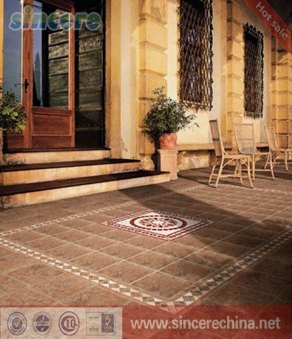 Spanish Floor Tile Matte Finish Ceramic Tiles Cheap Outdoor Tiles