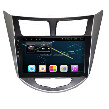 Android 6.0 car with 2GB RAM/32GB Flash car dvd for 9in Hyundai Verna/Accent