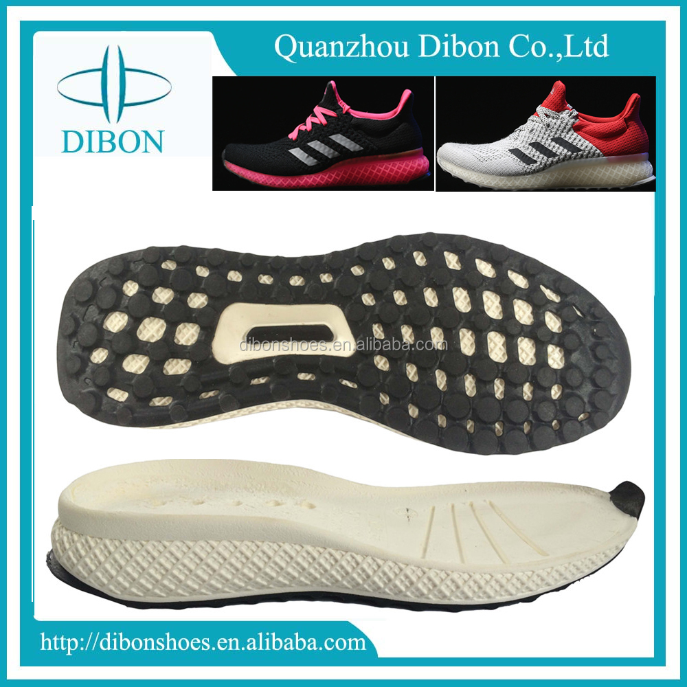 2017 latest design soles AD Flexible running shoe sole