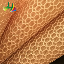 Onway Textile fancy 3D mesh embroidery fabric for wedding dress lace with heavy beads sequence