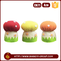 2016 Good quality cute colorful easter egg cosy mushroom decoration