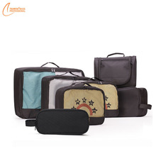 Best Sale 6pcs Travel Organizers Packing Cubes Set with Laundry Bag