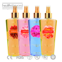 250 ml sexy body spray/body splash/body mist secret fragrance perfume body mist best for ladies