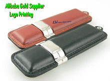 key chain usb flash disk leather 4gb , corporate gift usb stick leather 1gb ,full capacity 8gb leather pen drive