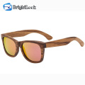 New Design Hot Selling Wooden Frame Sunglasses