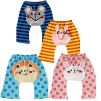 China Wholesale Infant Cute Cotton Pants New Born Baby Busha Pants