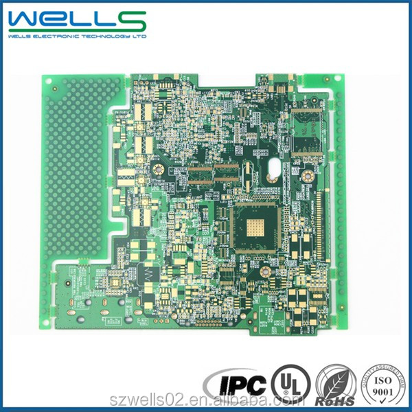 Shenzhen electronics multilayer pcb and 94vo pcb board factory